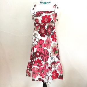 Laura Lees Top Shop Floral Summer Sun Dress